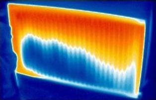 thermal imagin blue yellow rad